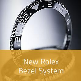 New Rolex Bezel System