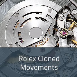 Rolex Cloned Movements