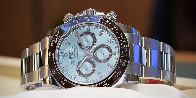 Rolex Swiss Replica Daytona Ice Blue 116506